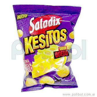 Snacks Kesitos sabor queso 80 gr.
