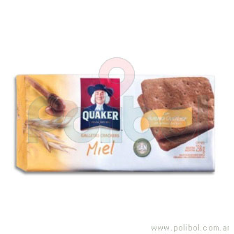 Galletas crackers miel con avena 238gr.
