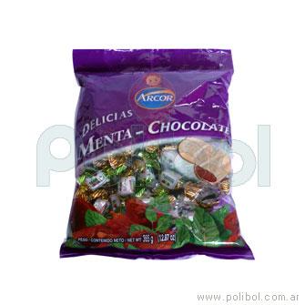 Caramelos de menta y chocolate 715 gr.