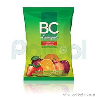 Caramelos BC sin azucar en gajos.