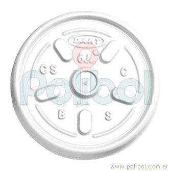 Tapa blancaas con Respiradero 6JL