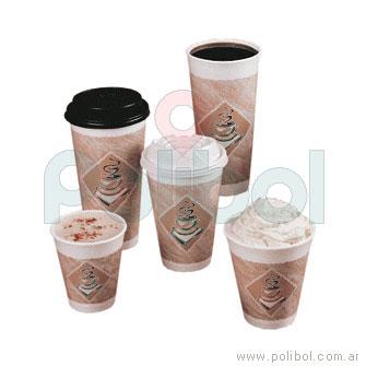 Vaso Impreso de Café 180 cc. J6