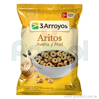 Aritos avena y miel