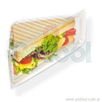 Estuche para Sandwich PET