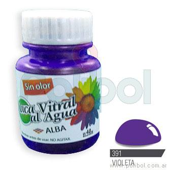 Laca Vitral al Agua Violeta 391