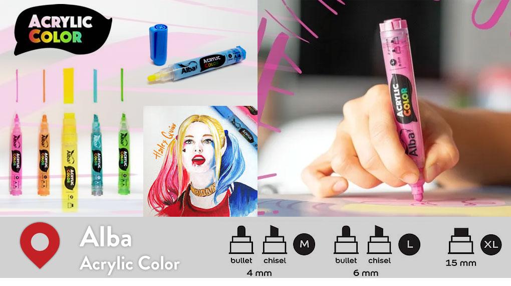 Alba Acrylic Color